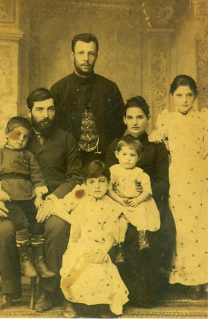 Lapidus family about 1892
